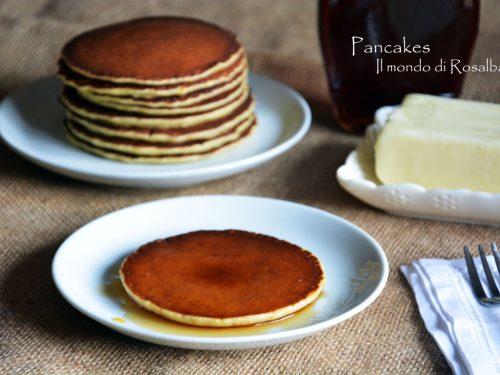 Pancakes (Ricetta tradizionale e Bimby)