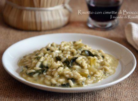 Risotto con cimette di Broccoli