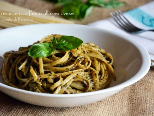 Trenette con Pesto alla genovese