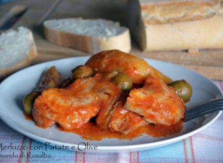 Merluzzo con Patate e Olive