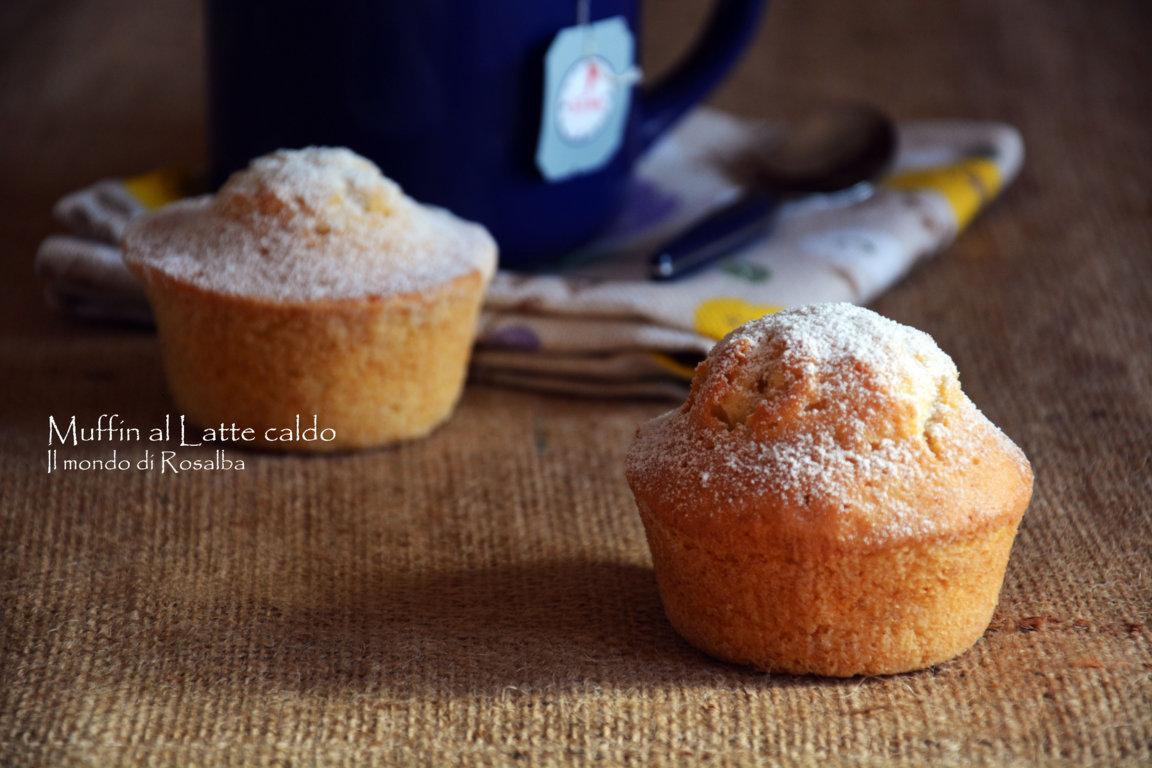 Muffin al Latte caldo