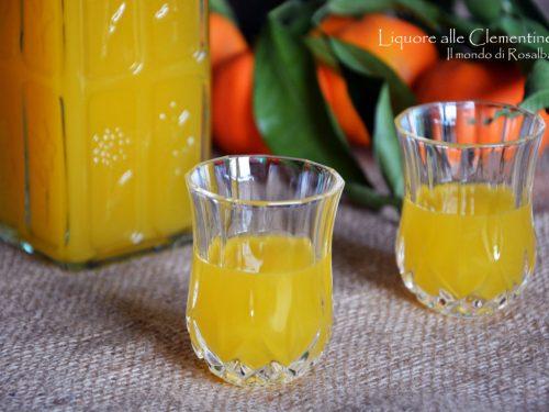 Liquore alle Clementine (Ricetta tradizionale e Bimby)