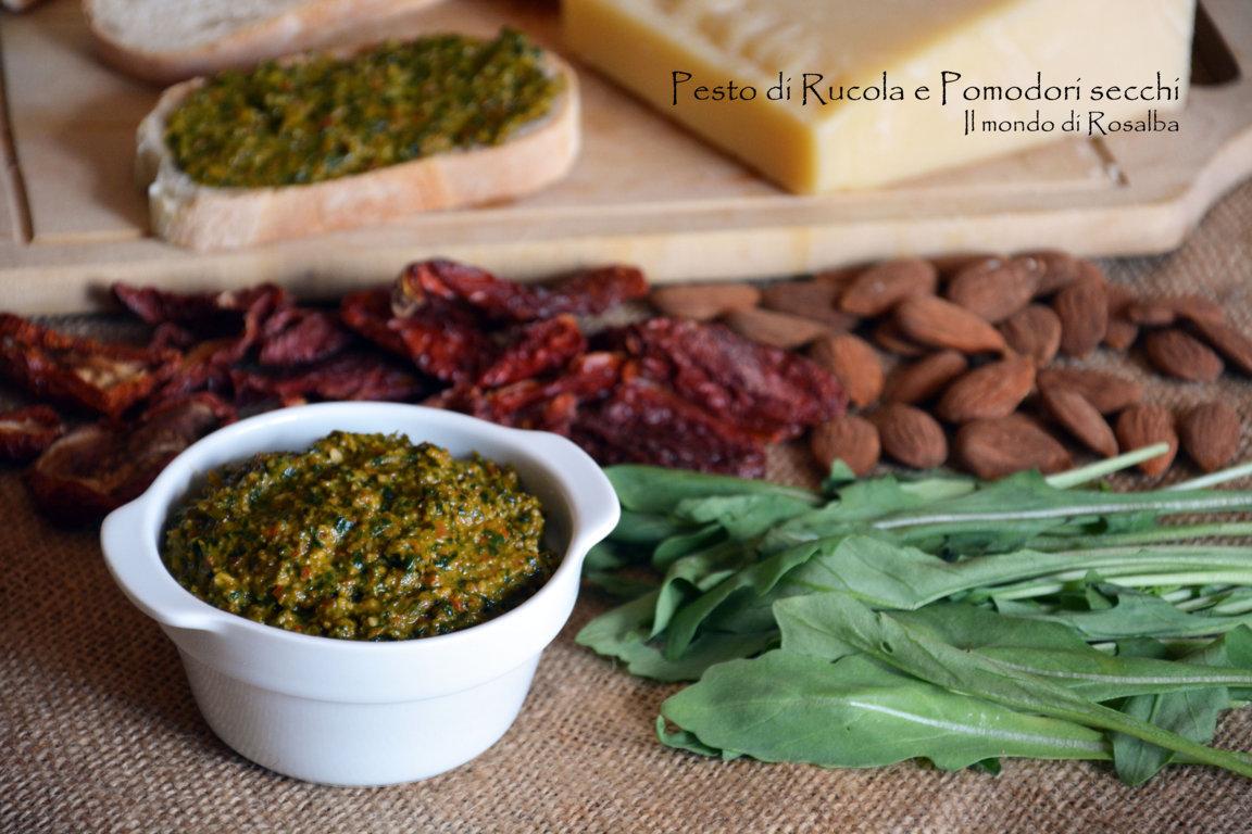 Pesto di Rucola e Pomodori secchi