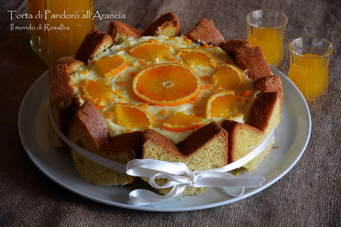 Torta di Pandoro all'Arancia