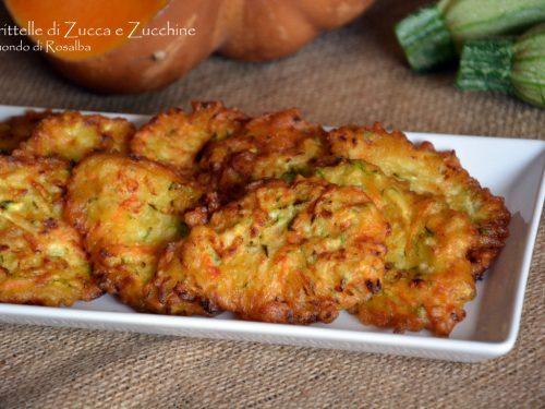 Frittelle di Zucca e Zucchine