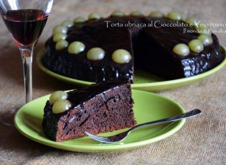 Torta ubriaca al Cioccolato e Vino rosso