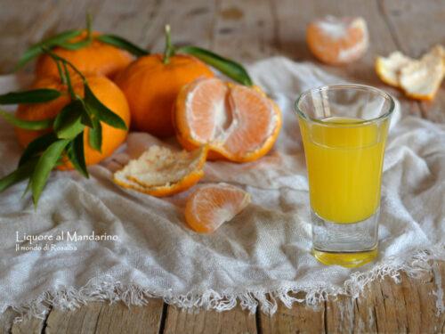 Liquore al Mandarino (Ricetta tradizionale e Bimby)