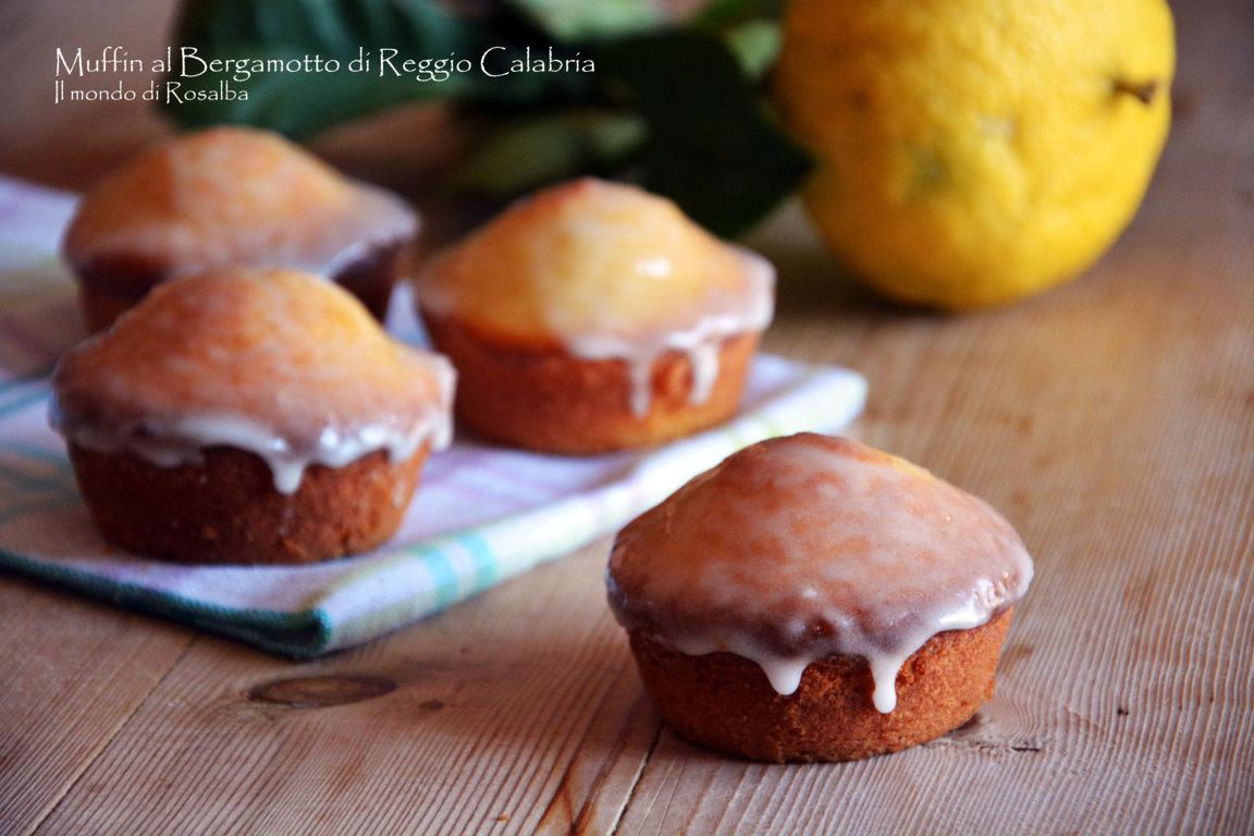 Muffin al Bergamotto di Reggio Calabria