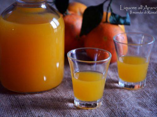 Liquore all'Arancia (Ricetta tradizionale e Bimby)