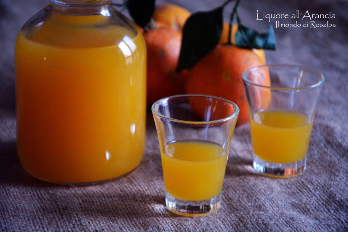 Liquore all'Arancia