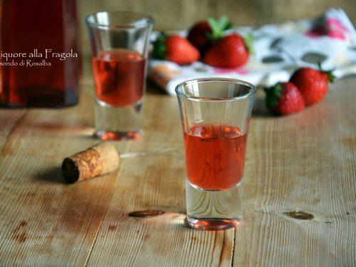 Liquore alla Fragola