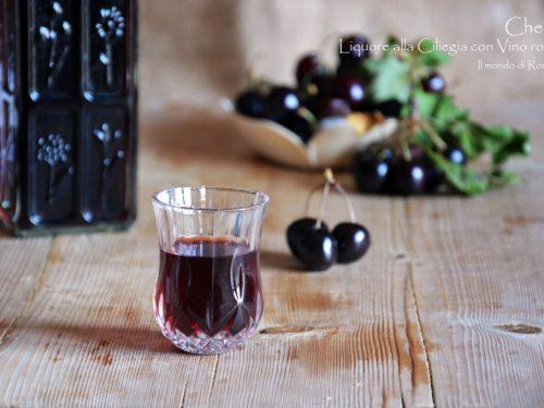Cherry Liquore alla Ciliegia con Vino rosso