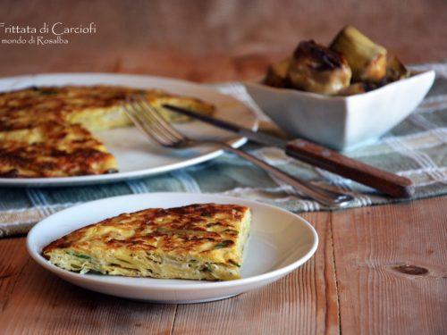 Frittata di Carciofi (Ricetta tradizionale e Bimby)