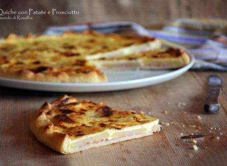 Quiche con Patate e Prosciutto
