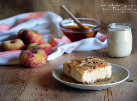Semifreddo allo Yogurt greco, Miele e Pesca Tabacchiera