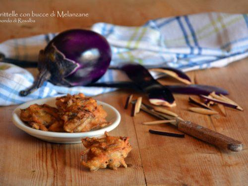 Frittelle con bucce di Melanzane