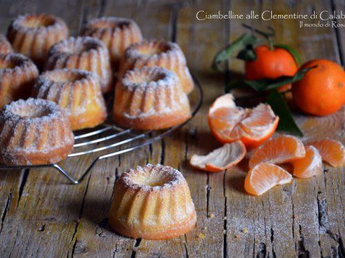 Ciambelline alle Clementine di Calabria