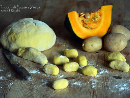 Gnocchi di Patate e Zucca (Ricetta tradizionale e Bimby)