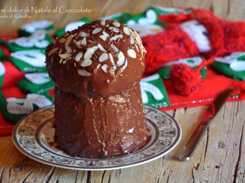 Pane dolce di Natale al Cioccolato