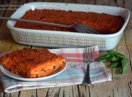 Riso al forno con Pomodoro e Basilico