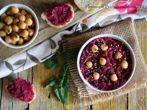 Hummus di Barbabietole rosse e Ceci