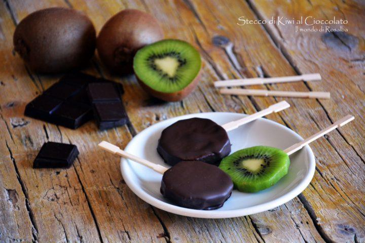 Stecco di Kiwi al Cioccolato