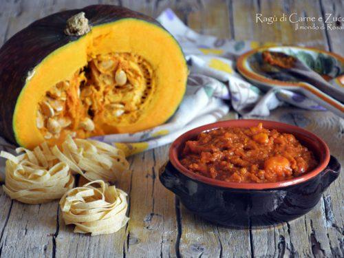 Ragù di Carne e Zucca (Ricetta tradizionale e Bimby)