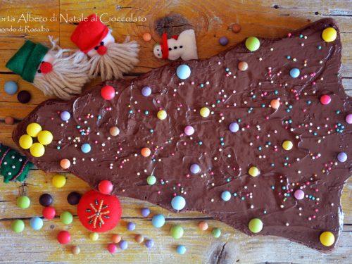 Torta Albero di Natale al Cioccolato