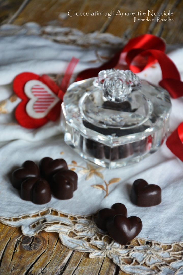 Cioccolatini agli Amaretti e Nocciole