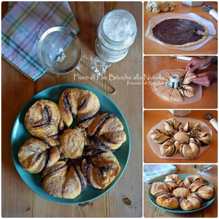 Fiore di Pan Brioche alla Nutella