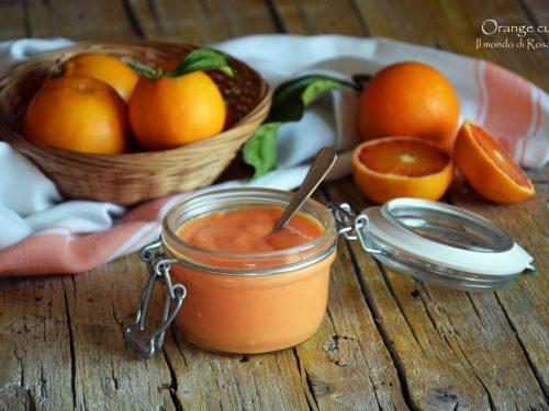 Orange curd (Ricetta tradizionale e Bimby)