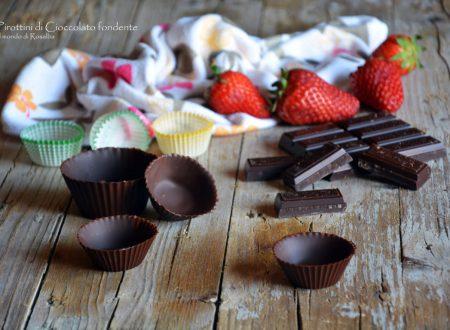 Pirottini di Cioccolato fondente (Ricetta tradizionale e Bimby)