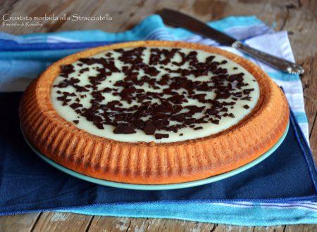 Crostata morbida alla Stracciatella (Ricetta tradizionale e Bimby)