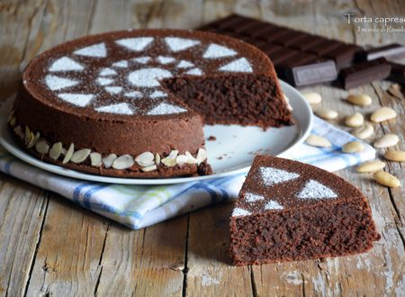 Torta caprese - Ricetta originale (tradizionale e Bimby)