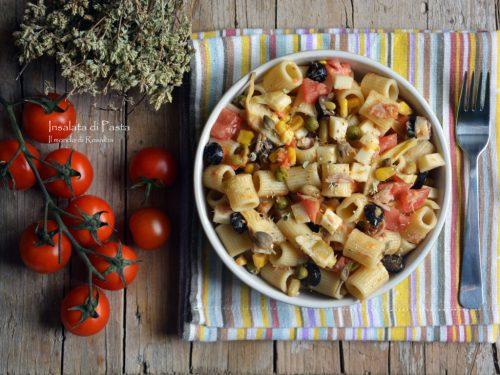 Insalata di Pasta (Ricetta tradizionale e Bimby)