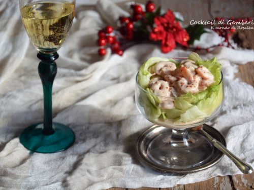 Cocktail di Gamberi (Ricetta tradizionale e Bimby)