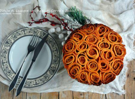Girelle di Lasagne con Ragù di Carne e Zucca (Ricetta tradizionale e Bimby)