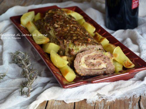 Polpettone di carne al forno (Ricetta tradizionale e Bimby)