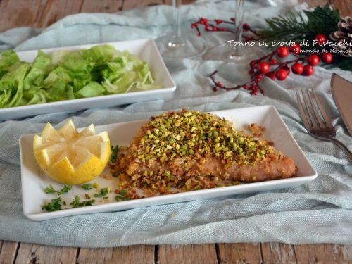 Tonno in crosta di Pistacchi (Ricetta tradizionale e Bimby)