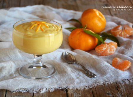 Crema al Mandarino (Ricetta tradizionale e Bimby)