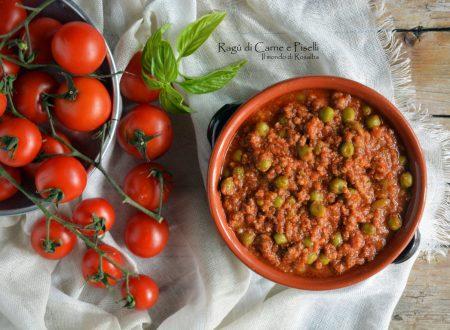 Ragù di Carne e Piselli (Ricetta tradizionale e Bimby)