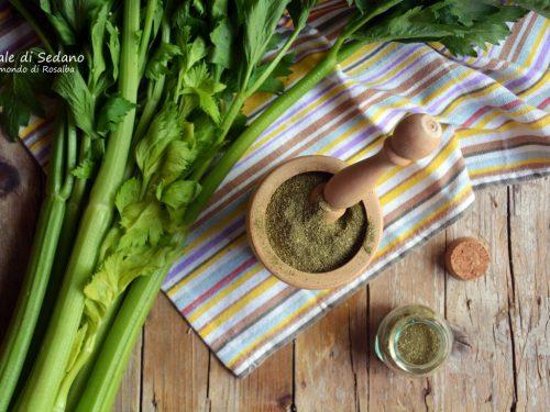 Sale di Sedano (Ricetta tradizionale e Bimby)