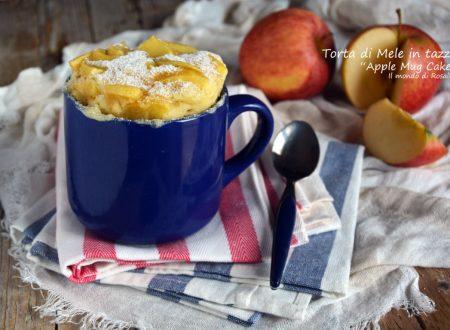 Torta di Mele in tazza – Apple Mug Cake (Ricetta tradizionale e Bimby)