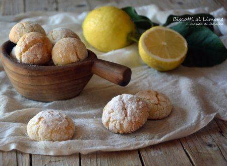 Biscotti al Limone (Ricetta tradizionale e Bimby)