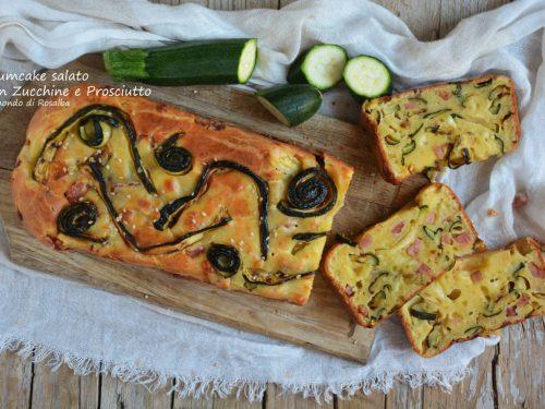Plumcake salato con Zucchine e Prosciutto (Ricetta tradizionale e Bimby)