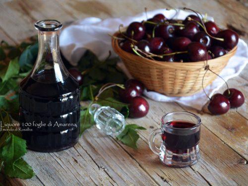 Liquore 100 foglie di Amarena