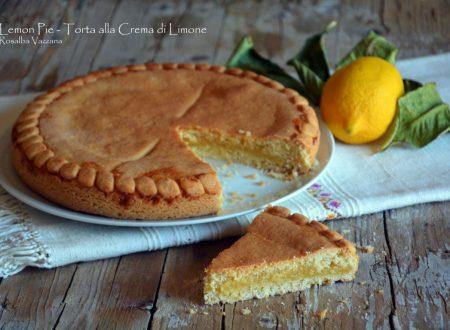 Lemon Pie - Torta alla Crema di Limone (Ricetta tradizionale e Bimby)
