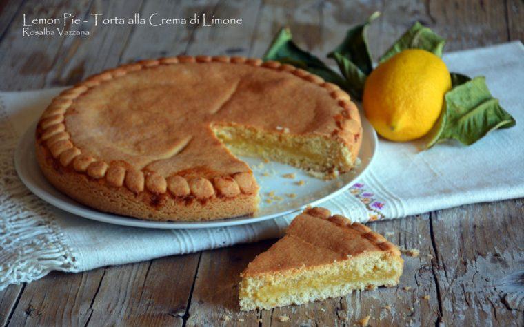 Lemon Pie – Torta alla Crema di Limone (Ricetta tradizionale e Bimby)