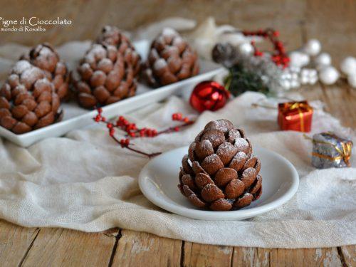 Pigne di Cioccolato (Ricetta tradizionale e Bimby)