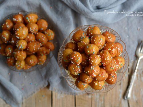 Pignolata calabrese al miele (Ricetta tradizionale e Bimby)